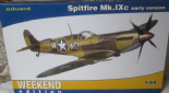 EDK84137 1/48 Supermarine Spitfire Mk.IXc early version Weekend